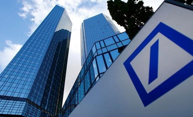 Almanya'nın en büyük bankasında sert düşüş!