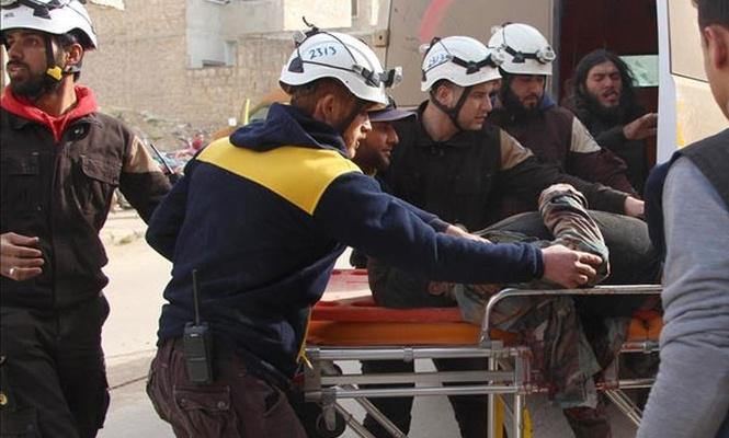 Beyaz Baretliler`e silahlı saldırı: 5 ölü