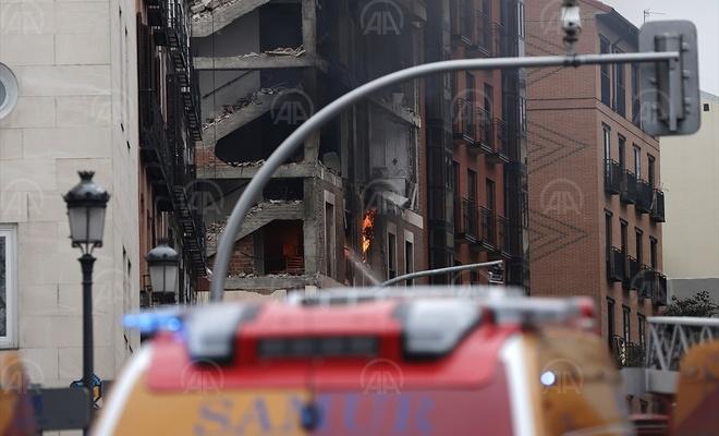 Madrid'teki patlamada 2 kişi öldü, en az 2 kişi yaralandı