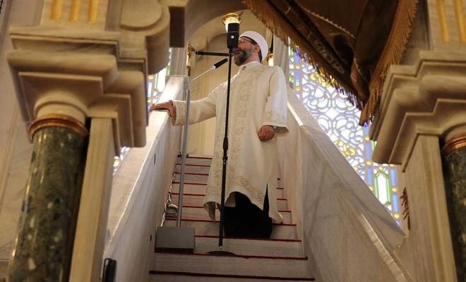 """Diyanet İşleri Başkanı Erbaş: """"Ashab-ı Suffa ruhuyla camilerimizi medrese yapacağız"""""""