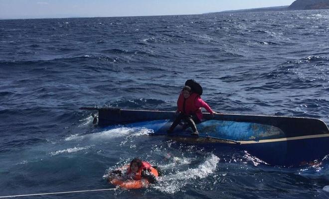 Libya açıklarında 7 göçmen boğuldu
