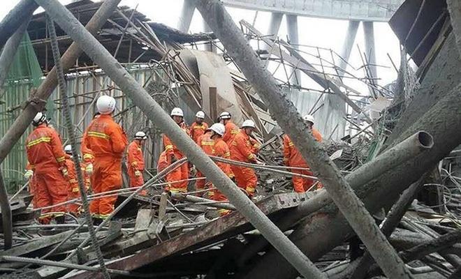 Çin`deki göçükte ölü sayısı 74`e yükseldi
