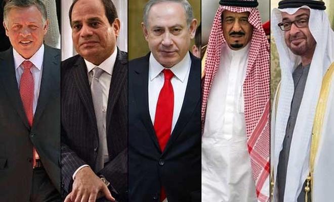 Araplar ile israil ilişkileri: Açıktan kınama, gizliden ilişki