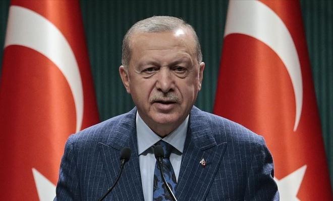 """Erdoğan: """"Ayasofya'yı yanlış bir kararla müzeye biz çevirmiştik, onu yeniden camiye de biz döndürüyoruz."""""""