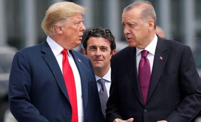Erdoğan ile Trump'un görüşme saati belli oldu