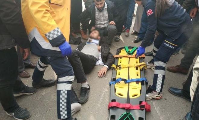 Batman`da trafik kazaları: Bir ağır yaralı