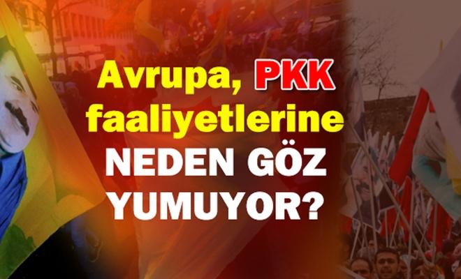 Avrupa, PKK faaliyetlerine NEDEN GÖZ YUMUYOR?