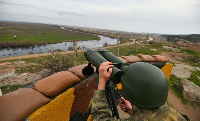 1 PKK suspect nabbed on Turkey-Greece border