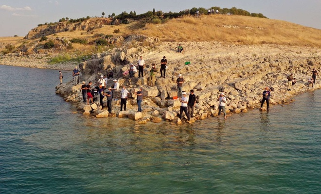 """Şanlıurfa'da """"Spin balıkçılığı""""yla ilgili etkinlik düzenlendi"""