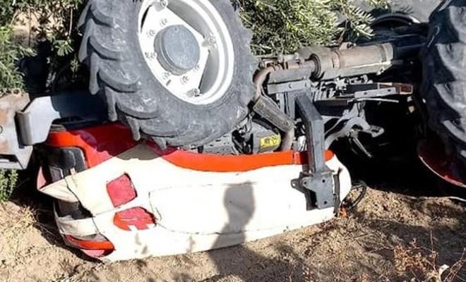 Hatay'da kullandığı traktör devrilen çocuk yaşamını yitirdi