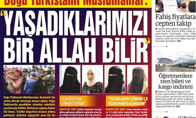 Doğu Türkistanlı Müslümanlar: YAŞADIKLARIMIZI BİR ALLAH BİLİR
