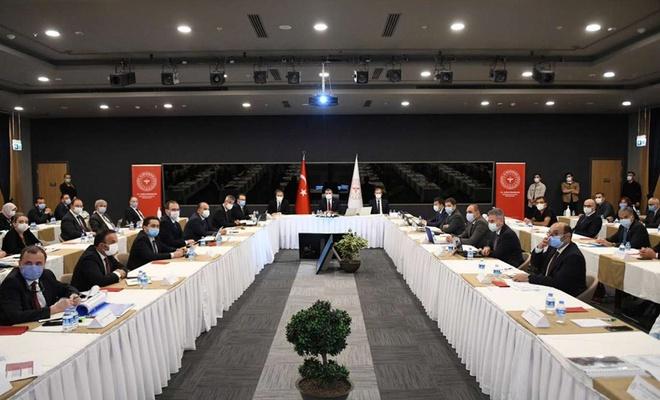 İstanbul'da Coronavirus toplantısı yapıldı