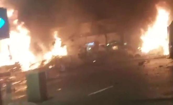 Hamas strikes Tel Aviv with rockets in retaliation to Israel's attacks on Gaza