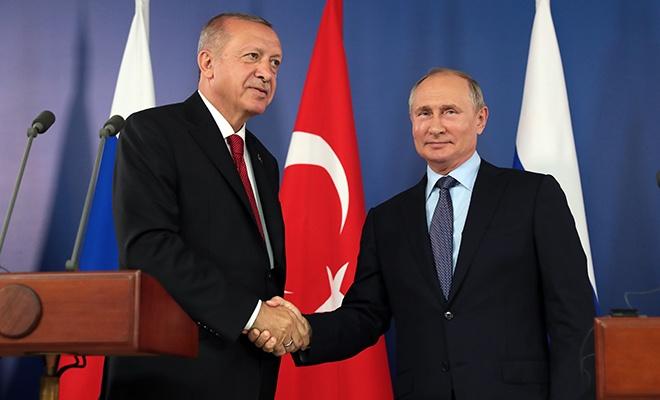 Erdoğan ve Putin basın toplantısında açıklamalarda bulundular