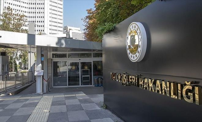 Dışişleri'nden BM'ye Kıbrıs tepkisi