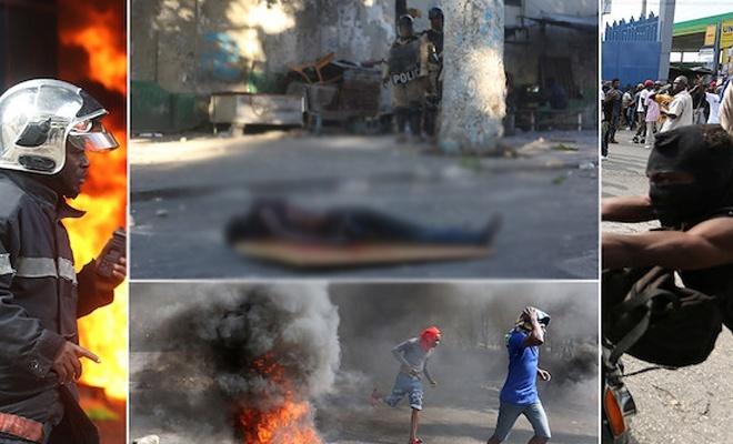 Haiti'de yolsuzluk karşıtı protestolar kana bulandı