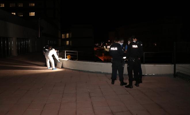 Hastaneden kaçmaya çalışan Kovid hastası balkondan düştü