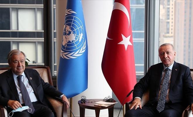 BM'den, Erdoğan-Guterres görüşmesine ilişkin açıklama
