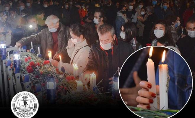 Depremde  Ölenleri Hristiyanlar Gibi Andılar!