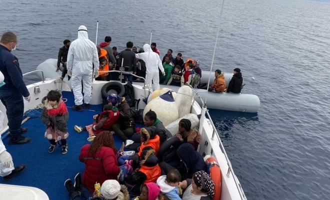 Son bir haftada 89 düzensiz göçmen yakalandı