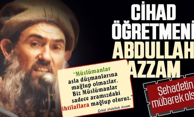 Abdullah Azzam görseline sansür