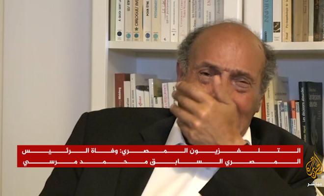 Munsif Marzuki Mursi için canlı yayında ağladı