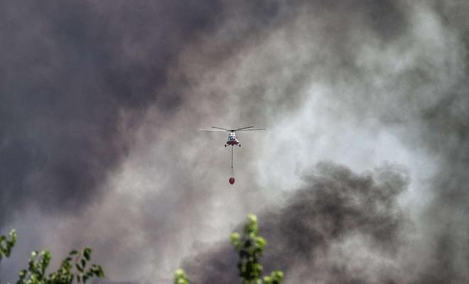 6 ilde 13 farklı yangınla mücadele devam ediyor