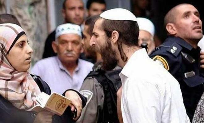 Yahudi işgalcilerden Hz. Muhammed'e hakaret!
