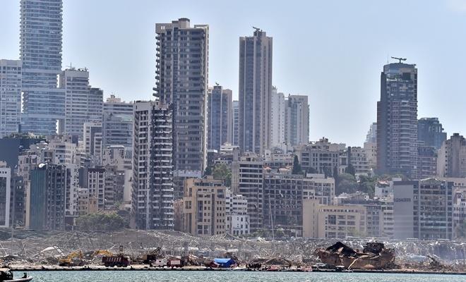 Patlama sonrası Beyrut Limanı'ndan yeni görüntüler