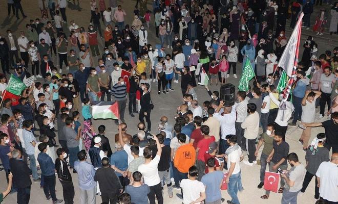 Kudüs direnişine kitlesel destek sürüyor