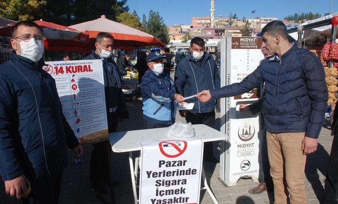 Semt pazarlarında Coronavirus önlemleri artırıldı