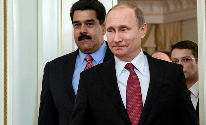 Rusya Venezuela'ya 2 uçak malzeme ve asker yolladı