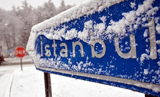 İstanbul`da kar yağışı etkisini sürdürecek