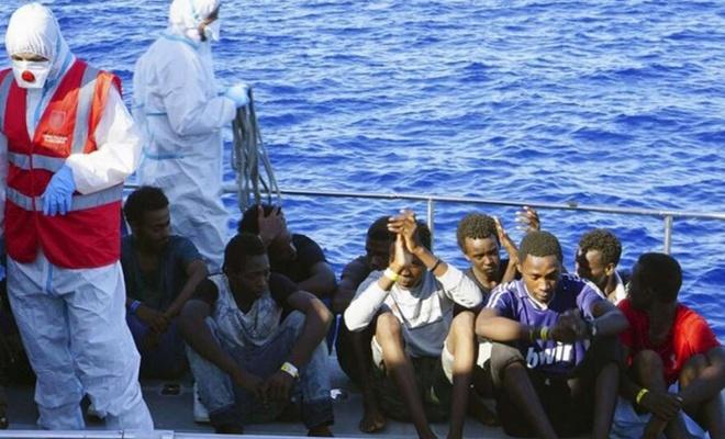 Avrupa'ya gitmeye çalışan 117 düzensiz göçmen kurtarıldı