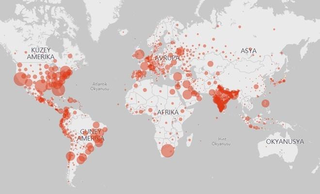 Dünya genelinde bugün yaşanan koronavirüs gelişmeleri