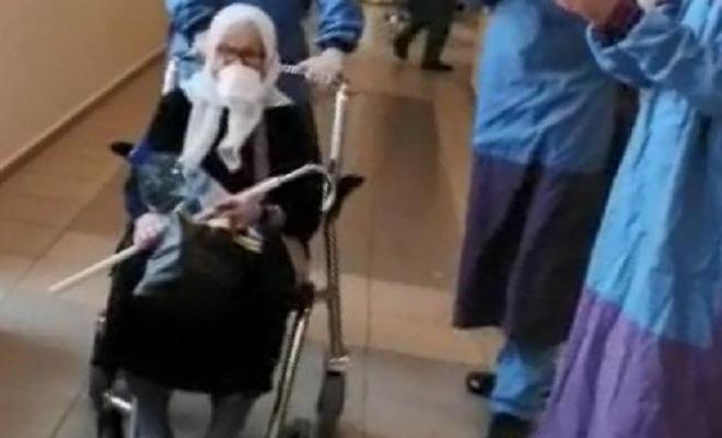 75 yaşında koronaya yakalanan umreci şifa buldu