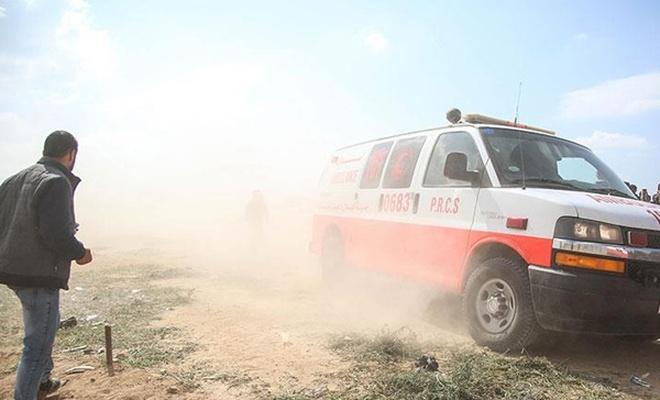 İşgalci İsrail Gazze sınırında iki Filistinliyi şehit etti