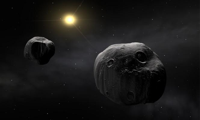 Güneş Sistemi`nde yeni bir çift!