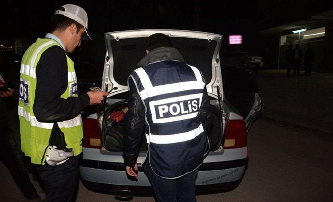 Elazığ'da çeşitli suçlardan aranan 93 kişi yakalandı