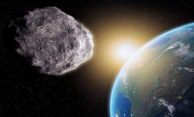 Dev asteroit Dünya'ya yaklaşıyor