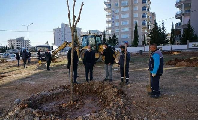 """Adıyaman'da """"Mahalle Bahçeleri"""" projesi hayata geçirildi"""