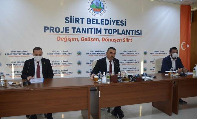 Siirt'te proje tanıtım toplantısı gerçekleştirildi