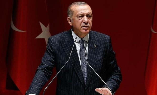 Cumhurbaşkanı Erdoğan İl Başkanları Toplantısı`nda konuştu.