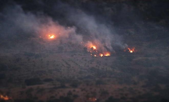 Gaziantep'te ormanlık alanda çıkan yangın kontrol altına alındı