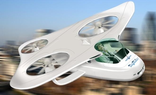 Uçan otomobiller artık rüya değil!