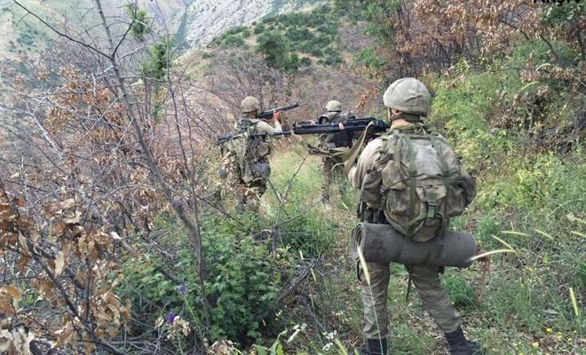 Teslim olan PKK'li sayısı 163'e yükseldi
