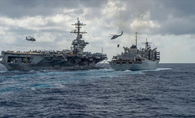 The Guardian sızdırdı... İşte Çin ve Rusya'ya karşı ABD'nin denizlerdeki planı