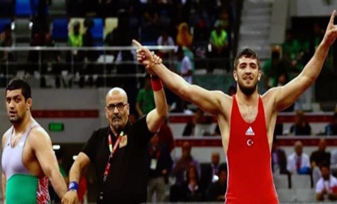 Güreşte 1 gümüş 4 bronz madalya
