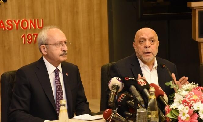 Hak-İş Genel Başkanı Arslan: -IMF defol- dedik