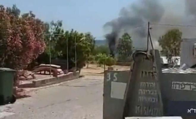 موشک حماس خودروی نظامی را منفجر کرد: یک کشته و 3 زخمی